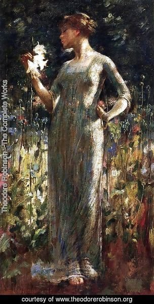 Theodore Robinson - A King's Daughter