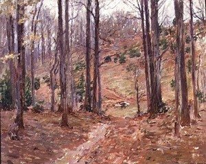 Theodore Robinson - Virginia Woods, 1893