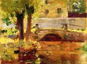 Theodore Robinson - The Bridge at Giverny, 1891