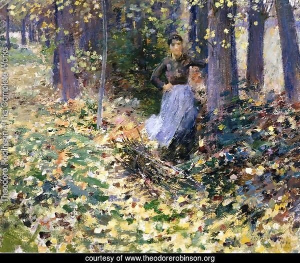 Autumn Sunlight (In the Woods) 1888