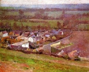 Theodore Robinson - Bird's Eye View: Giverny