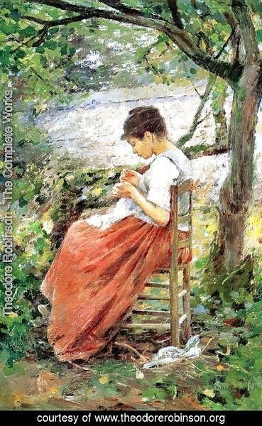 Theodore Robinson - The Layette I