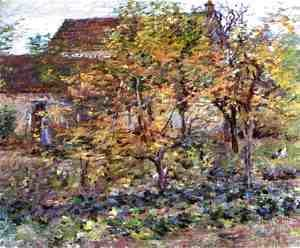 Theodore Robinson - Yellow Apples