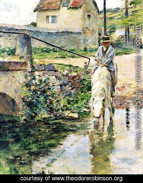 Theodore Robinson - The Watering Place