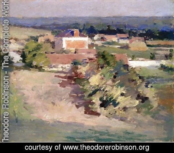 Theodore Robinson - The Red House