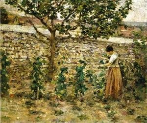 Theodore Robinson - In the Garden II