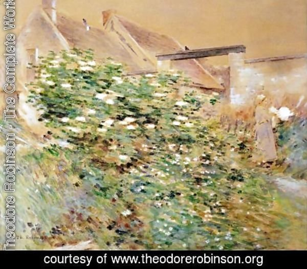 Theodore Robinson - Normandy Farm, A Characteristic Bit, Givernyy