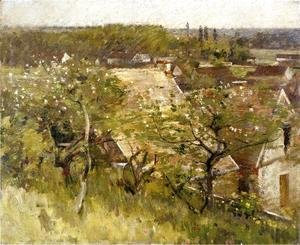 Theodore Robinson - In the Orchard I