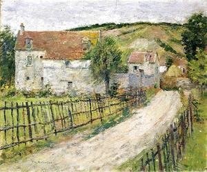 Theodore Robinson - The Old Mills of Brookville
