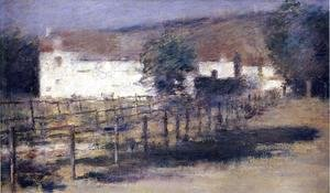 Theodore Robinson - Moonlight, Giverny