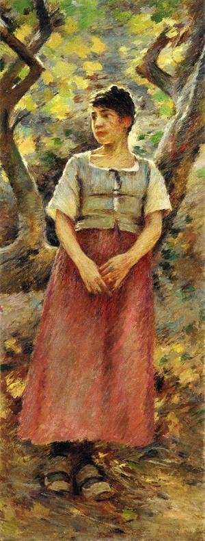 Theodore Robinson - The Peasant Girl