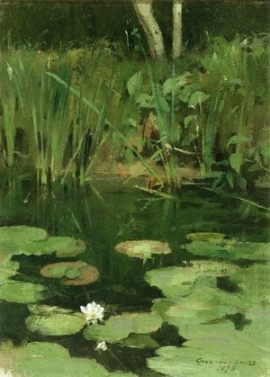 Theodore Robinson - Water Lilies