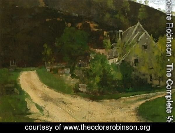 Theodore Robinson - French Village