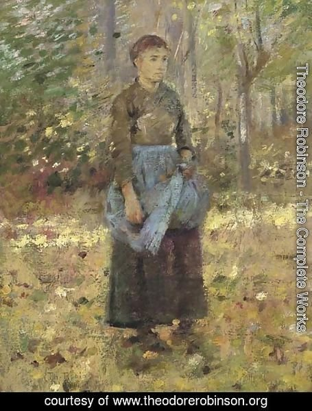 Theodore Robinson - The Blue Apron