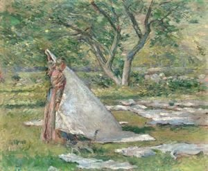 Theodore Robinson - Washing Day