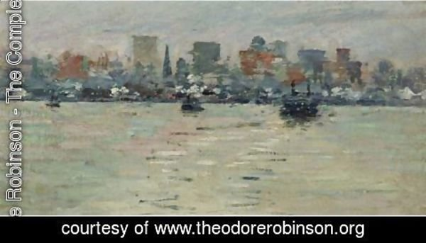 Theodore Robinson - The Ferry 2