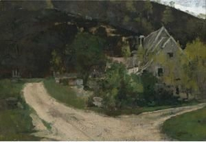 Theodore Robinson - French Village 2