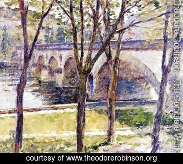Theodore Robinson - Bridge Near Giverny