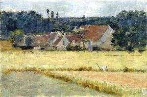 Theodore Robinson - French Farmhouse