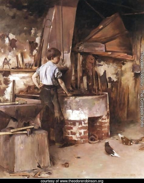 The Apprentice Blacksmith