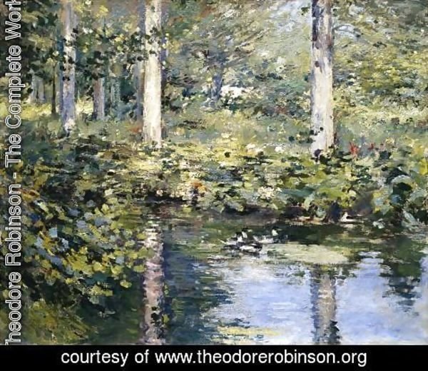 Theodore Robinson - The Duck Pond