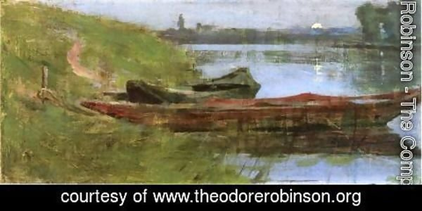 Theodore Robinson - Two Boats