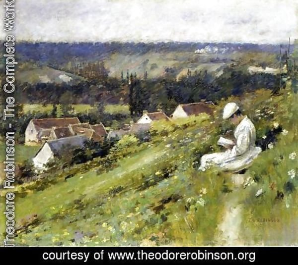 Theodore Robinson - Val D Arconville