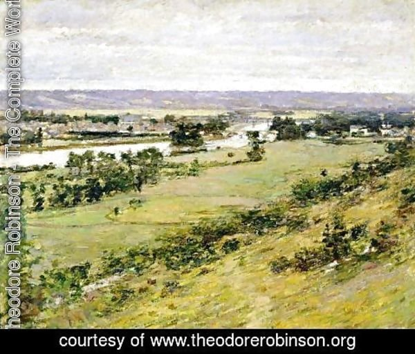 Theodore Robinson - Valley Of The Seine