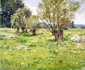 Theodore Robinson - Willows And Wildflowers2